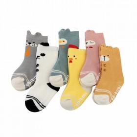 儿童袜婴幼儿小童宝宝毛巾袜子立体小中筒毛圈袜
