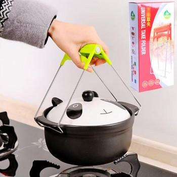 创意厨房多用途不锈钢取碗夹 夹碗器防烫碗碟夹提盘夹
