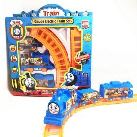 男孩小火车益智套装宝宝轨道车电动3-7周岁汽车儿童
