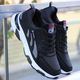 新款休闲黑色标准跑步保暖鞋运动雪地旅行耐磨防滑鞋软
