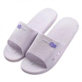 韩国居家拖鞋女夏可爱厚底防滑防臭室内浴室凉施女