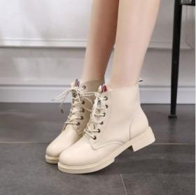 马丁靴女靴秋冬季女鞋韩版百搭英伦风短筒靴网红雪地靴