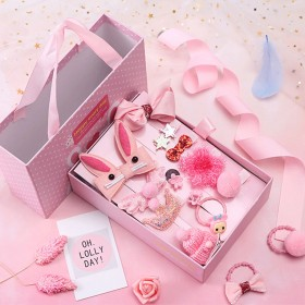 兒童發夾小女孩側邊發卡嬰兒頭飾可愛萌萌噠公主發飾女