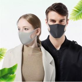 防尘口罩女防霾可清洗黑色海绵口罩保暖儿童防护口罩