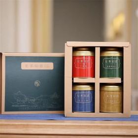 【请拍3份】共3盒 高品质4种茗茶组合礼盒装配礼袋
