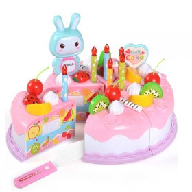 37件套过家家切切乐蛋糕玩具