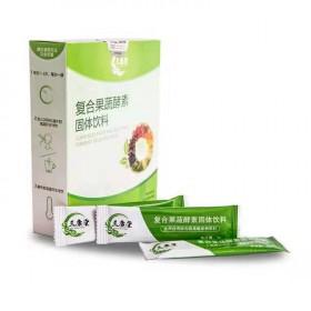 台湾复合果蔬酵素粉清肠排宿便排油夜间酵素梅果冻