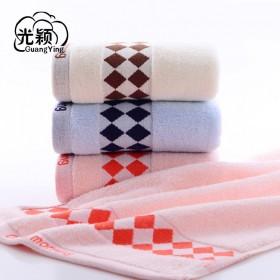 毛巾纯棉洗脸家用成人柔软擦脸全棉吸水加厚女男士面巾
