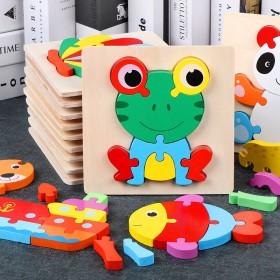 婴幼儿1-3周岁3d立体质宝宝早教益智力开发玩具
