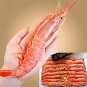 超大4斤阿根廷红虾野生冰冻虾大虾冷冻海捕大虾鲜活新