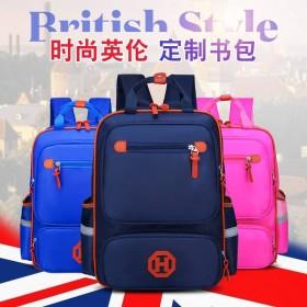 韩版小学生书包男女英伦贵族儿童书包背包书包