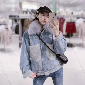 韩版宽松加厚夹克棉衣