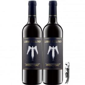 法国红酒整箱2支进口干红葡萄酒750ml