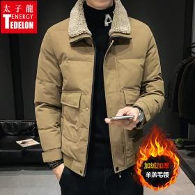 棉衣男外套冬季面包服韩版加厚棉袄冬装男士棉服潮