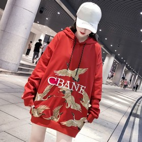 新款时尚简约个性舒适潮流女士创意优雅百搭卫衣