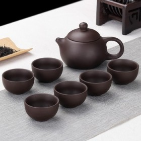 【限时抢购】7头紫砂茶壶套装