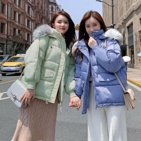 韩版短款棉袄冬季大码加厚宽松棉服
