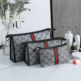 韩版潮化妆包外出简约收纳包便携零钱手机收纳包大容量