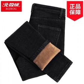 牛仔裤女2019新款韩版搭高腰修身显瘦小脚学生加绒