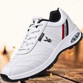 时尚款秋冬季加绒保暖男鞋运动休闲网红鞋跑步学生旅游