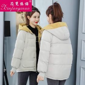 2019新款冬季羽绒服棉服女装长袖短款韩版宽松显瘦