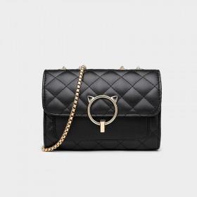 2020新款时尚百搭女士小CK包包链条包单肩斜挎包