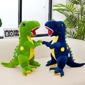 霸王龙公仔小恐龙玩具毛绒可爱玩偶男孩抱枕娃娃儿童玩