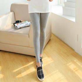 韩版大码莫代尔打底裤 春夏季女士外穿紧身薄款