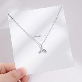 【预售】人鱼项链女纯银个性潮网红锁骨链ins