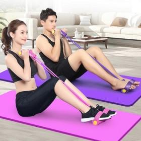 脚蹬拉力神器男女士健身瑜伽辅助器材弹力普拉提绳