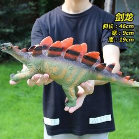 大号软胶叫声恐龙玩具侏罗纪界恐龙仿真霸王龙儿童男女