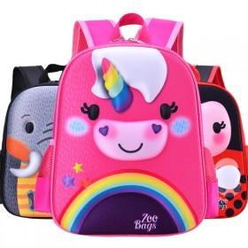 幼儿园书包3-6岁卡通可爱儿童双肩背包男孩女轻便小