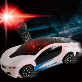遥控汽车模型3D灯光炫酷i8赛车漂移儿童玩具车