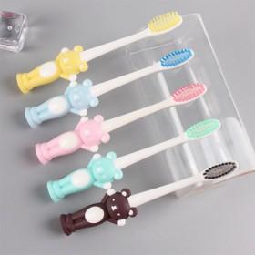 【8支】组合装卡通硅胶牙刷
