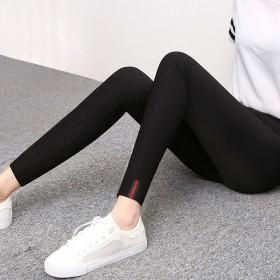 蔓姿春上新小脚裤打底裤女外穿修身显瘦九分铅笔裤长修