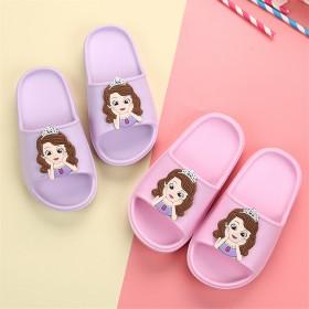 儿童拖鞋女童卡通春夏小孩室内防滑家居公主一字拖