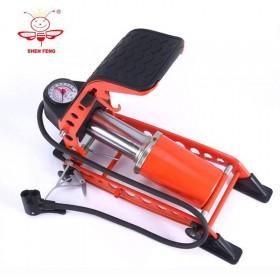 汽车脚踩充气泵电瓶车自行车摩托车三轮车高压打气筒