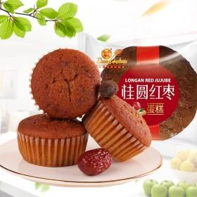 正得顺桂圆红枣蛋糕零食儿童早餐食品