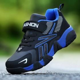男童鞋子运动鞋2020新款秋冬季儿童中大童皮面防水