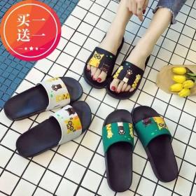 2020夏季新款一字拖鞋防滑韩版潮拖外穿男女生拖鞋