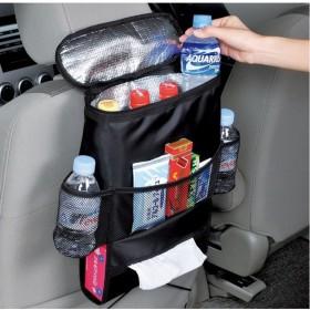 汽车收纳袋冰包式椅背袋车内保温款置物袋冰袋储物包