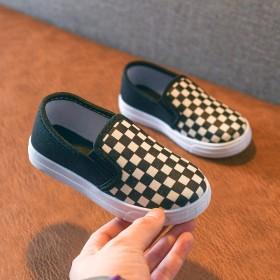 儿童帆布鞋春秋女童鞋宝宝单鞋男童板鞋幼儿园小白鞋