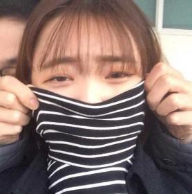高领条纹打底衫长袖T恤女韩版宽松学院风秋冬女士上衣