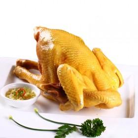 2只装正宗广东梅州贵食盐焗鸡卤味白切鸡1400g