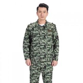 迷彩服套装男丛林特种兵春秋季军训服电焊焊工工服耐磨