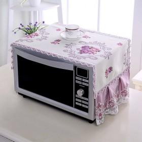 单双开门冰箱防尘罩微波炉洗衣机盖布冰箱巾防尘布