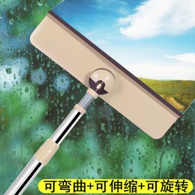 擦玻璃器伸缩杆双面擦窗神器刮水器楼房搽洗拖把