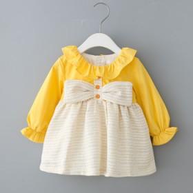 女童春装长袖连衣裙