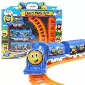 托马斯轨道火车套装儿童玩具电动轨道车拼装玩具车