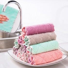 十条装洗碗布加厚